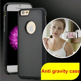 Wholesale Anti gravity adsorption Protective case for mobile phone Creative magic hanging mobile phone case Iphone6 plus iphone6s plus Samsung S7