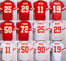 Wholesale Best Quality Alex Smith Jamaal Charles Jerseys Chiefs Eric Berry Jeremy Maclin Justin Houston Eric Fisher Josh Mauga