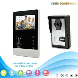 Wholesale XSL V43D11 L V1 XSL Manufacturer Inch intercom system Handfree classical style video door phone for apartments