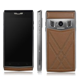 Wholesale Doogee T3 Android6 Smartphone Inch HD Screen MTK6735 Quad Core G RAM G ROM MTK6753 Octa Core Leather Back Cover
