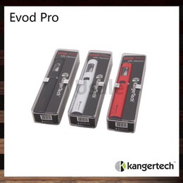 Wholesale Kanger Evod Pro Starter Kit All in One Design Top Fill Mouth to Lung Vaping Experience Original