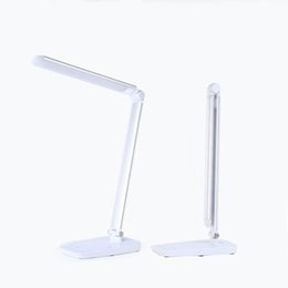 Wholesale Table lamps led light modern LED desk lamps office light touching switch durable eyeshield charge easily multi colored
