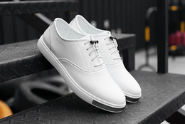 Mens Shoes Casual PU Leather white black Canvas Shoes Breathable Slip on Shoes Sports Shoes