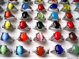 wholesale bulk lots 60pcs mixed styles ladies colorful stone metal alloy vintage retro jewelry rings brand new