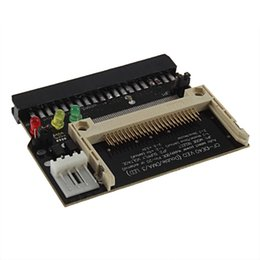 Wholesale Cf Card Ide Adapter - 1pcs 40 Pin IDE Bootable Adapter Compact Flash CF to 3.5 Female Converter Card Wholesale