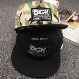 Descuento sombreros de camuflaje Las novedades DGK camuflaje sombreros del snapback ajustable calle monopatín hip hop sombrero falt gorra de béisbol para los hombres y las mujeres sombreros ajustables