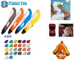 Wholesale 2016 DEWANG First Generation D Magic Pen With Color M ABS Filament And Nozzle Best D Printer Tablet LCD LED For Kids