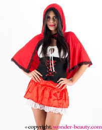 New Arrival Red Storybook Costume Sexy Fairy Tale Costumes for Women Fancy Dress Costumes For Adult Alice W208957A
