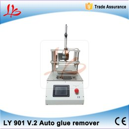 Wholesale LY V Built in vacuum pump with S4 S5 mold automatic Touch screen oca glue removing machine for mobile phone lcd screen refurbishment