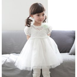 Wholesale 2016 summer Brand children s clothes Girls gauze princess dress Han edition child dress manufacturers selling foreign trade cotton