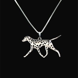 Dalmatian movement Pendant jewelry Silver Gold Necklaces & Pendants For Women Casual Jewelry Charms Dog Necklace