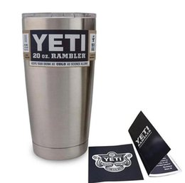 Wholesale 2016 Hot Sale Rambler Tumbler oz YETI Cups Cars Beer Mug Large Capacity Mug Tumblerful