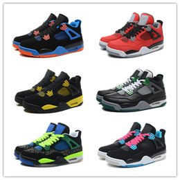 2016 Retro 4 Basketball Shoes Men Sneakers Cheap High Quality IV J4 Hot Sale New Men's Sports Shoes Size 7-13