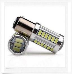 30PCS BAY15D 1157 1142 Car Tail Stop Brake Light 5730 33 SMD LED Bulb 12V DC wholesale price