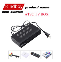 Wholesale 2016 ATSC TV BOX Mexico USA Canada Korea ATSC M3 HD TV Receiver Full HD p Digital TV Converter Box