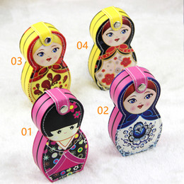 Wholesale hot set baby nail clippers doll nail scissors set new peculiar Russian doll beauty nail suits