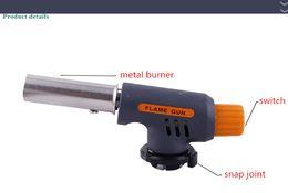 Gas Butano soplete de soldadura autógena pistola encendedor de quemador de hierro llamas de fuego del arrancador desde de gas de soldadura de hierro fabricantes