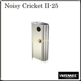 Wholesale Authentic Wismec Noisy Cricket II MOD W O Battery Noisy Cricket Optional Circuit in Series and Parallel Original
