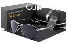 Men's brand Polarized Sunglasses Mercury coated anti reflection Aluminum magnesium alloy frame outdoor Driving Anti-Glare glasses E011