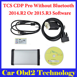 Wholesale DHL Free R3 Or R2 Gray Interface Auto TCS CDP Pro Plus With LED IN1 TCS CDP Plus Without Bluetooth Carton Box