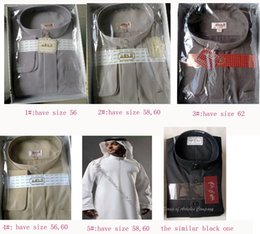 Wholesale buy cheap islamic clothing hot style abaya Saudi robe for man China online HQ043