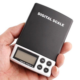 Wholesale 100pcs Portable LCD Mini Electronic Balance Weight Scale Pocket Jewelry Diamond Weighting Scales g x g
