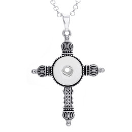 Wholesale A01390 NOOSA Cross Pendant Snap Ginger Snaps Jewerly