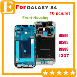 OEM Front Frame for Samsung Galaxy S4 3G 4G vs i9500   i9505   i9506 i337 Front Housing Replacement Screen Plate Replacement Parts 10 pcs