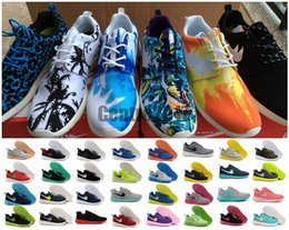 Wholesale Roshe Run Shoes Black White Red Fashion Men Women Roshes Running London Olympic Walking Sport Shoes Sneakers Best Quality