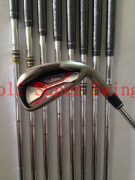 Brand New Golf Clubs Irons AeroBurner Golf Irons Set 4-9PAS Dynamic Gold Steel Shafts DHL Free Shipping