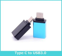 Wholesale Metal USB Type C OTG Adapter Male to USB A Female Converter Adapter OTG Function for Macbook Google Chromebook