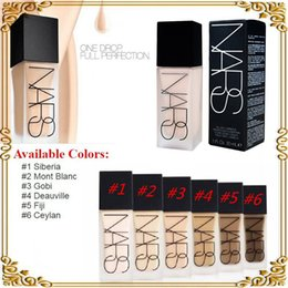 Wholesale 2016 Makeup Face And Body Foundation NARS New Makeup All Day Luminous Weightless Foundation Liquid ml gift
