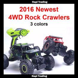 Wholesale RC Car G CH WD Rock Crawlers x4 Driving Car Double Motors Drive Bigfoot Car Remote Control Car Model Off Road Vehicle Toy