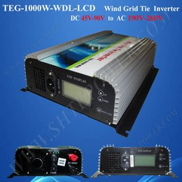 72v 220v DC AC wind grid inverter, 1000w wind grid tie inverter