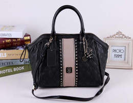 Wholesale fashion women shoulder bag pu leather Handbag NWT bag black SKUGU024