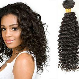 7A Queen Peruvian Malaysian Indian Virgin deep wave human Hair Extensions Brazilian Deep Wave Hair Products 3 4pcs Best Quality
