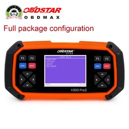 Wholesale OBDSTAR X300 PRO3 Key Master English Version with Full Configuration Immobiliser Odometer Adjustment EEPROM PIC OBDII EPB Oil Service