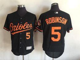 Wholesale Brooks Robinson Jersey Baltimore Orioles Majestic Black Alternate Flexbase Authentic Collection Jersey for Men Online Sale