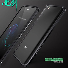 Wholesale frame fence For Xiaomi Mi5 Original Luphie Brand Luxury Metal Case Aluminum Frame Top Quality Bumper For Xiaomi mi5 With Screw