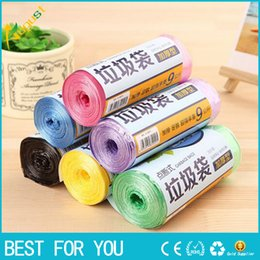 Wholesale Hot sale Roll Good Quality Thicken Kitchen Trash Garbage Bags Rubbish Bucket Trash Can Household Cleaning Tools x45cm GYH