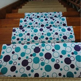 Wholesale Best Selling pc Staircase Carpets Living Room Stair Treads Non slip Floor Mats Rugs and Carpets for Home Living Room cm JI0107