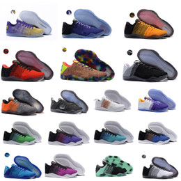 Wholesale 2016 new Kobe Elite Low Basketball Shoes Men Original New Arrival Sneakers Cheap Retro Weaving Kobe Running Shoes Size Eur