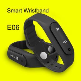 Acheter en ligne Mi bracelet de bande-Ecran LCD Fitness Bandeaux Activité Tracker intelligent Wristband Xiaomi Mi Band E06 tactile Mi bande Bracelet Pour Android IOS DHL OTH234