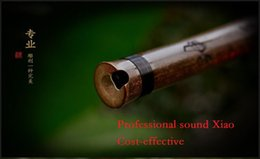 Wholesale ZWB006 three parts Traditional Handmade Professional sound quality Chinese Bamboo Xiao Cost effective By Master Zhan WenBing