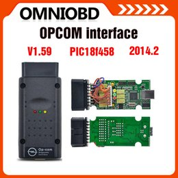 Wholesale Top selling New Arrival opcom OP com v2014 auto diagostic tool for Opel op com V1 with PIC chip High Quality
