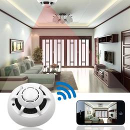 Enregistrement vidéo cachée à vendre-Caméra Caméra UFO espion caché 720P sans fil WiFi IP caché Nanny Cam Video record pour Home Security