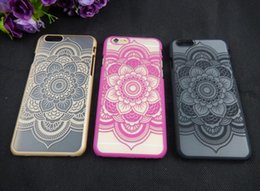Wholesale iphone s cases Brand New Beautiful Floral Henna Paisley Mandala Palace Flower Phone Cases Cover For iphone5 SE s Case