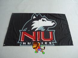 Northern Illinois University Flag 3ft x 5ft Polyester Banner Flying 150* 90cm Custom flag sport helmet Banner 100D Polyester flag