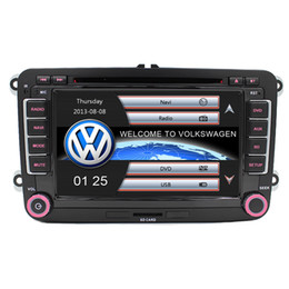 Wholesale 7 quot Touch Screen Car DVD GPS built in Can Bus support Original VW UI for VW Volkswagen POLO PASSAT B6 Golf Skoda Octavia