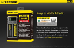 Wholesale Original New I2 Nitecore New i2 Battery Charger with LED Display Charging for etc
